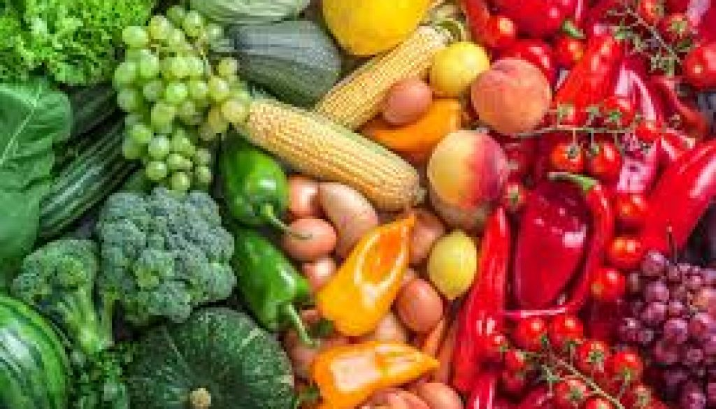 Alimentos sanos y alimentos fitness