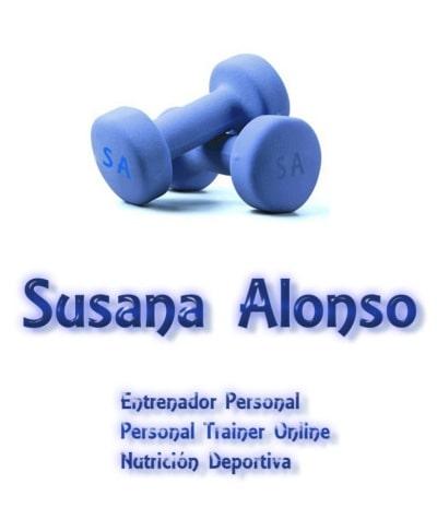 Entrenador Personal Susana Alonso Fitness. Contacto Logo