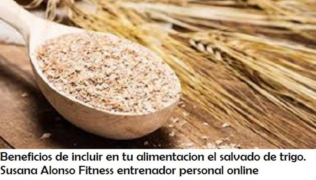 Fibra dietetica procedente del salvado de trigo