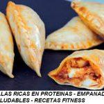 Cocina fitness saludable. Empanadillas fitness
