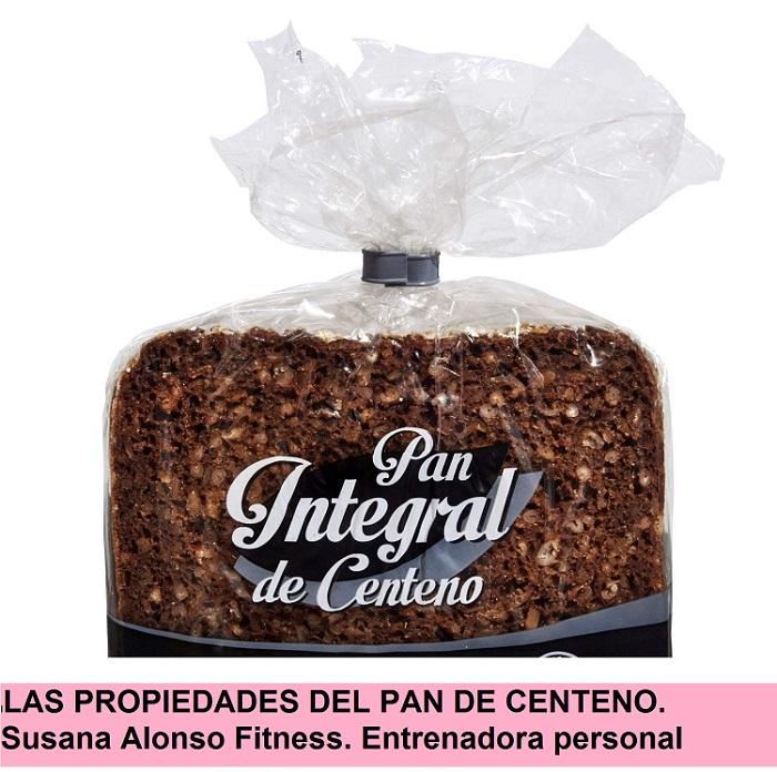 Las propiedades del pan de centeno. Entrenadora personal Online